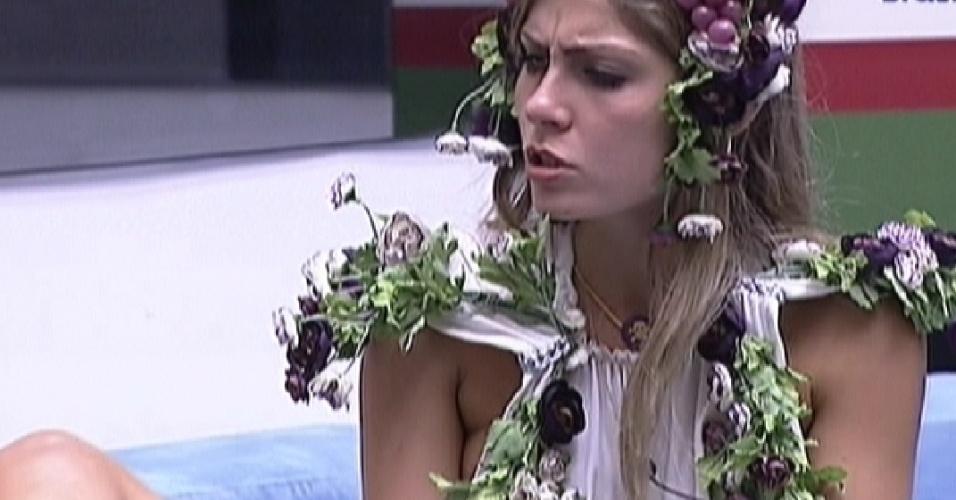 Renata foi a oitava eliminada do