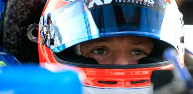 Rubens Barrichello participa dos treinos para seu primeiro GP da Fórmula Indy