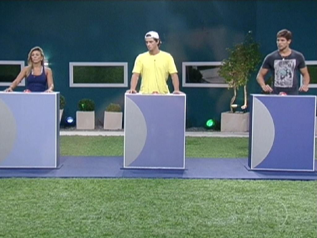 A última prova do líder do programa foi um jogo de perguntas sobre curiosidades do
