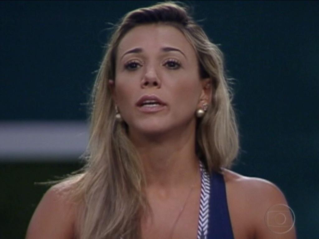 Bial deu a chance da nova líder falar alguma coisa e Fabiana pediu perdão pelos seus julgamentos (26/3/12)