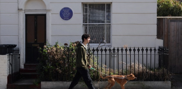 Residência na qual Van Gogh morou em Londres é colocada à venda pela primeira vez em 65 anos (26/3/12) - Getty images