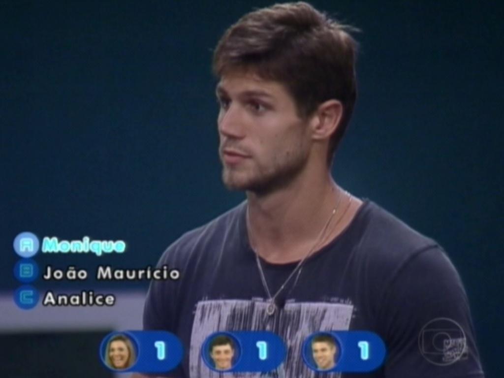Jonas responde a pergunta sobre quem foi o terceiro brother a deixar a primeira prova de resistência do