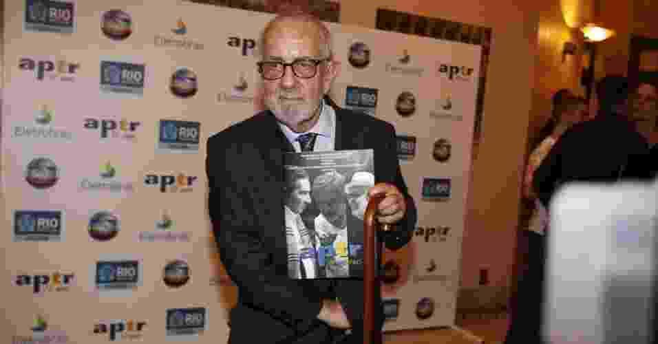 O ator Paulo José prestigia amigos no 6º Prêmio APTR de teatro no Rio de Janeiro (26/3/2012). O prêmio é organizado pela Associação dos Produtores de Teatro do Rio - PhotoRioNews