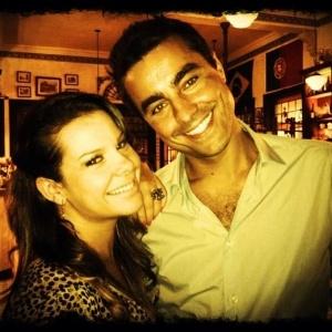 Fernanda Souza e Ricardo Pereira vão estrear peça juntos (27/3/12) - Reprodução/Twitter