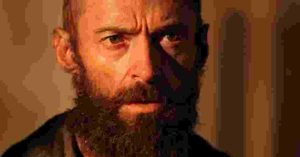 """Hugh Jackman em """"Os Miseráveis"""" - Reprodução/Twitter"""