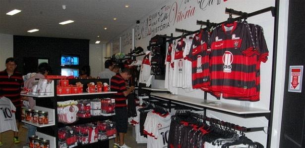 Nova loja oficial do Vitória, localizada no Barradão