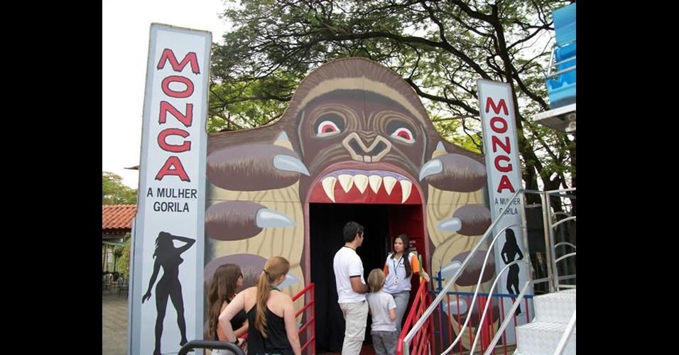 Atração do Parque Guanabara, em Belo Horizonte (MG)