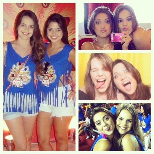 Bianca Salgueiro posta fotos ao lado da amiga Polliana Aleixo