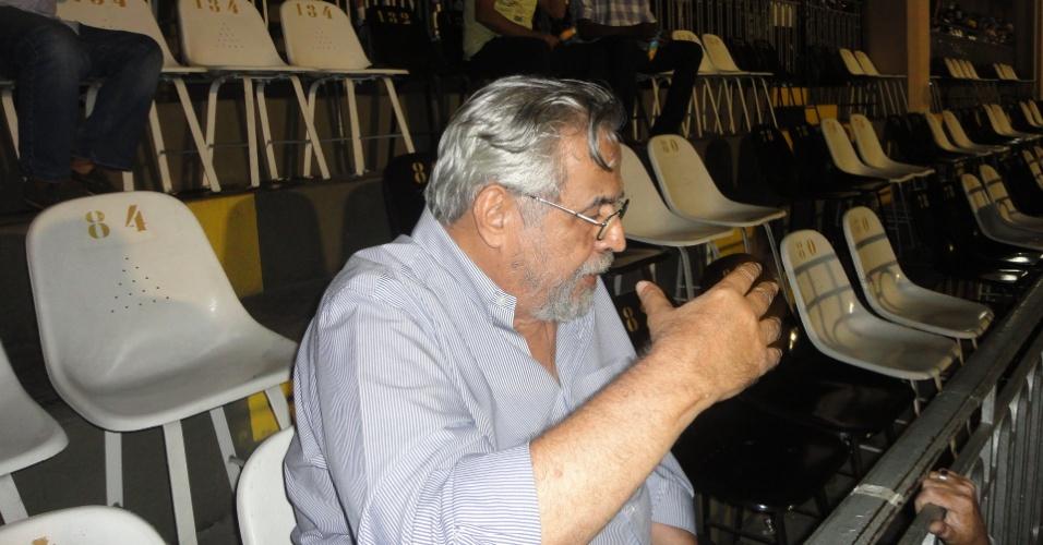 Desafeto de Roberto Dinamite, Eurico Miranda vai a São Januário para despedida de Edmundo do Vasco