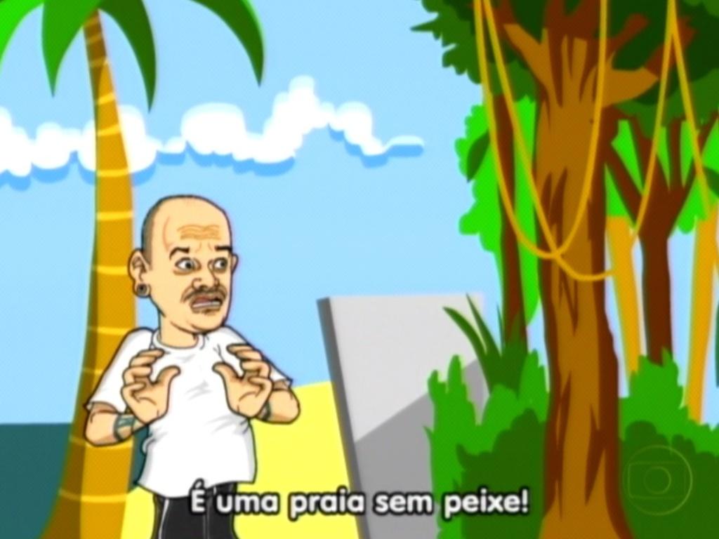 A indecisão de João Carvalho foi retratada na animação de Maurício Ricardo (29/312)