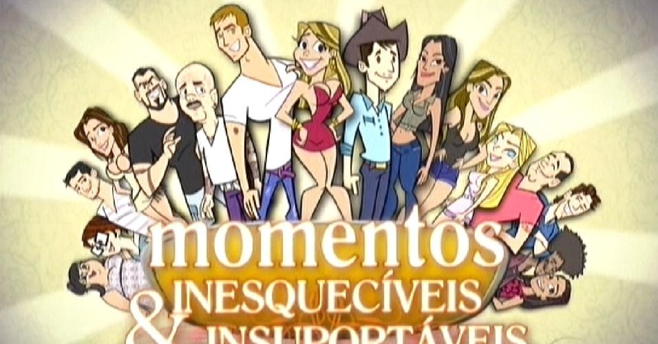 """Animação mostra os momentos mais marcantes do """"BBB12"""" (29/3/12)"""