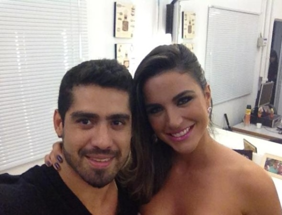 Ex-BBB Laisa posta foto ao lado do namorado Yuri nos bastidores da final do