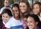 """Monique, Kelly, Rafa e João Maurício chegam a hotel no Rio de Janeiro para final do """"BBB12"""" - Clayton Militão /Photo Rio News"""
