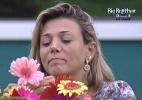 """""""Ela chegou na final, já deu muito certo"""", diz marido de Fabiana - Reprodução/TV Globo"""
