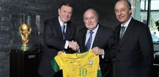 Auditoria feita pela gestão atual da Fifa reprovou gastos de Marin, Blatter e Del Nero