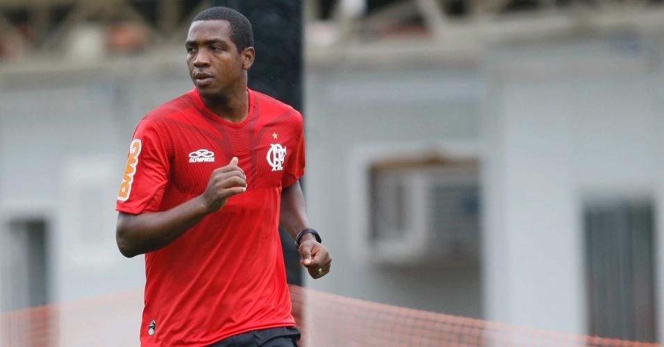 Renato Abreu corre em primeiro treino físico após cirurgia no coração (29/03/2012)