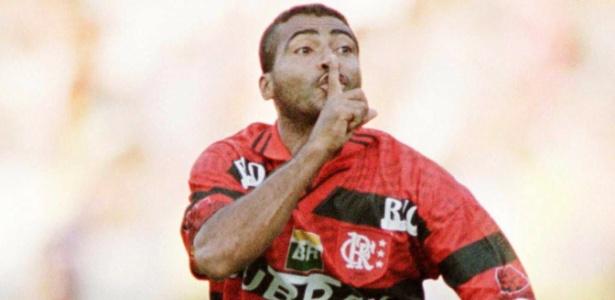 Romário era o mais bem pago do futebol brasileiro há 20 anos: R$ 62,5 mil mensais