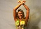 """""""Meu maior adversário fui eu mesma"""", diz Fabiana, que admite ter surtado em diversos momentos - André Durão/UOL"""