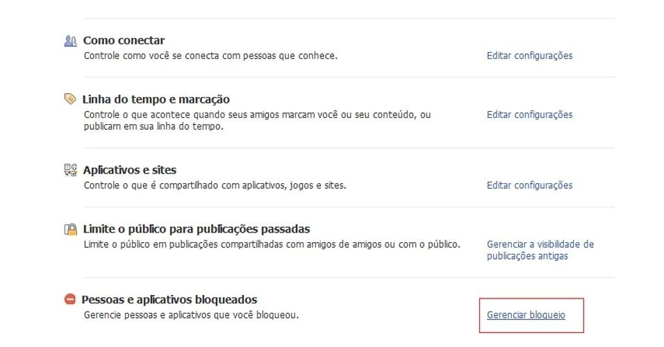 Bloquear chatos no Facebook
