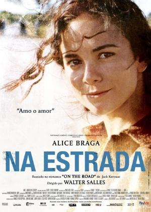 """Cartaz de """"Na Estrada"""" com Alice Braga - Divulgação"""