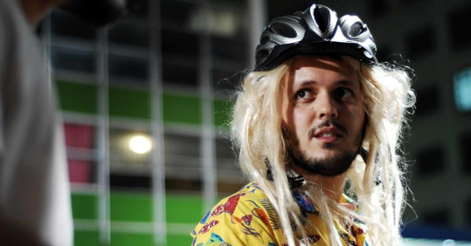 Ciclistas participam de Bicicletada Nacional em homenagem ao ciclista atropelado por Thor Batista