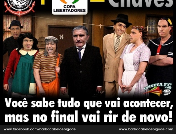 Corneta FC: Corinthians na Libertadores tem sempre o mesmo final, mas todo mundo ri