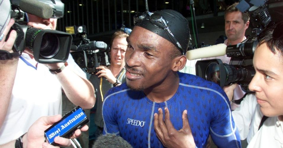 Eric Moussambani nadou estilo