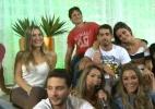 """Sem a presença de Daniel, ex-BBBs participam de bate-papo e Kelly diz que """"Fabiana deveria pensar mais antes de falar"""" - Reprodução/TV Globo"""