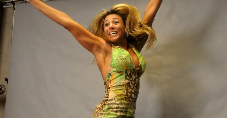 Fabiana ficou com o segundo lugar e faturou R$ 150 mil (30/3/12)