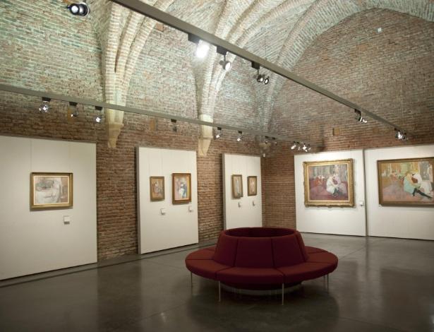 Museu de Albi, cidade francesa onde nasceu Tolouse-Lautrec é reaberto ao público (20/3/2012) - EFE