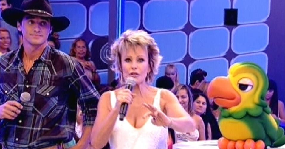 No aniversário de Ana Maria o programa foi gravado nos estúdios do