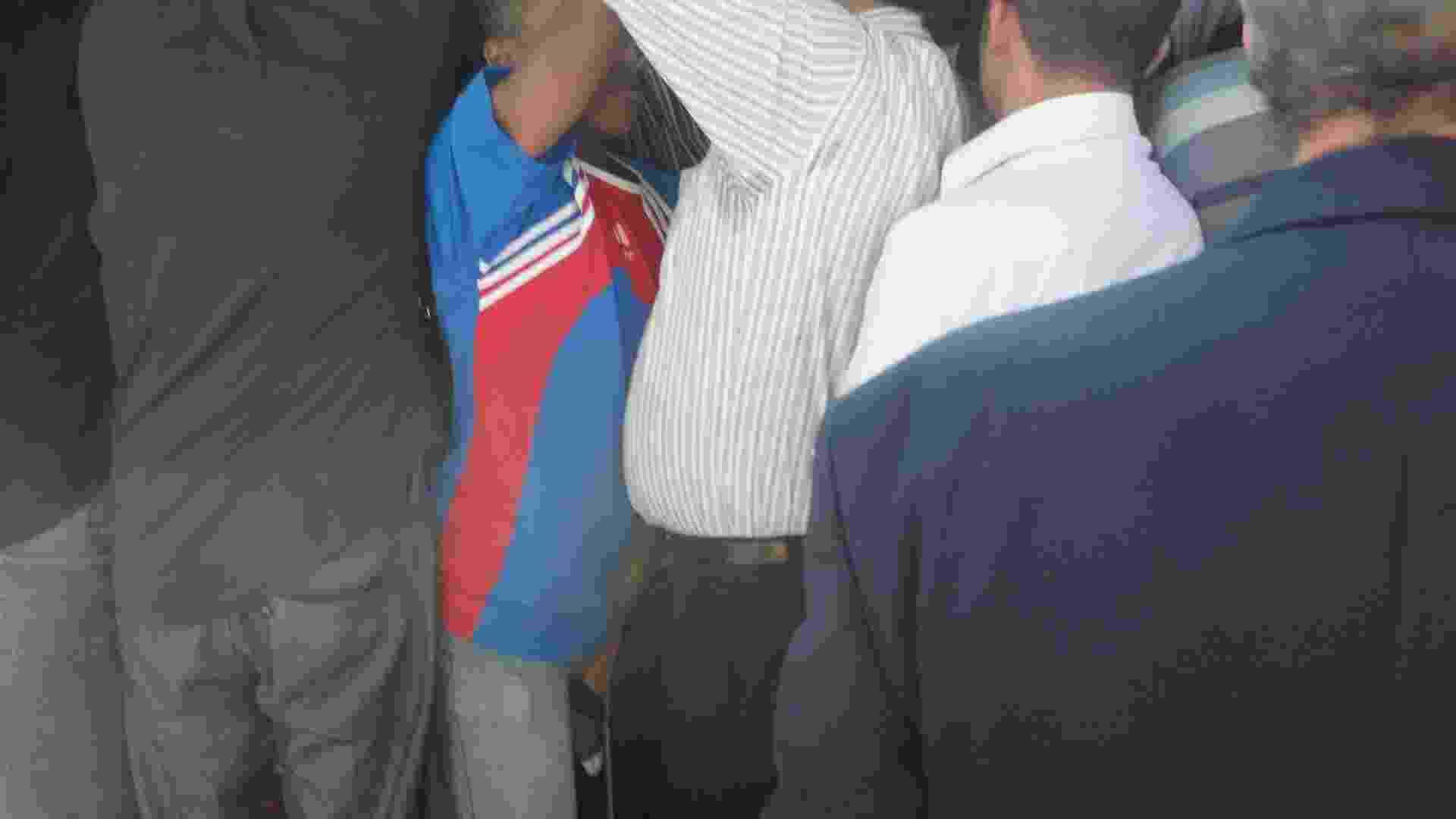 Passageiros enfrentam lotação no metrô do Rio de Janeiro - Felipe Martins/UOL