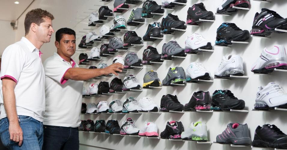 Fábrica de tênis que começou na garagem agora exporta para países vizinhos