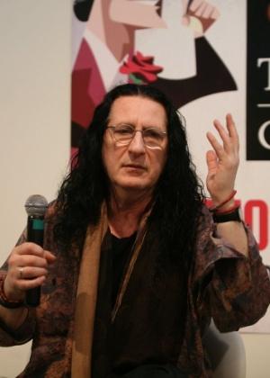 O diretor de teatro Gerald Thomas dá entrevista na 21° edição do Festival de Teatro de Curitiba.  - André Muzell/AgNews
