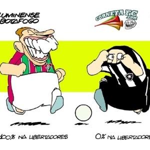 Corneta FC: Apesar de empate, torcedor do Flu ainda tem motivos para cornetar botafoguenses