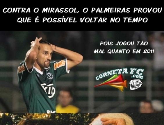 Corneta FC: Palmeiras prova que é possível voltar no tempo e apresenta futebol de 2011