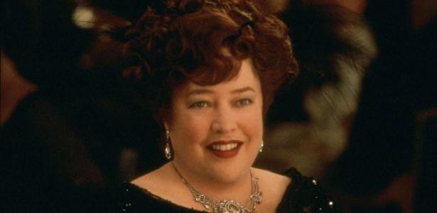 "Kathy Bates em cena de ""Titanic"" (1997)"