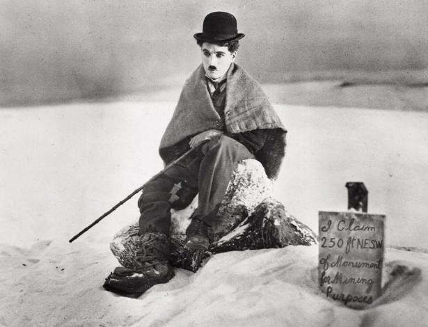 """O ator Charles Chaplin em cena do filme """"The Gold Rush"""" (30/6/2003) - AP"""