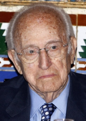 Cartunista espanhol Antonio Mingote morre aos 93 anos (3/4/12) - Manuel H. de León/EFE