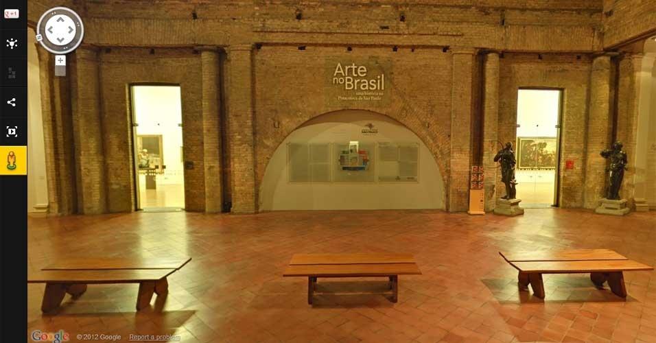 Google Art View Pinacoteca