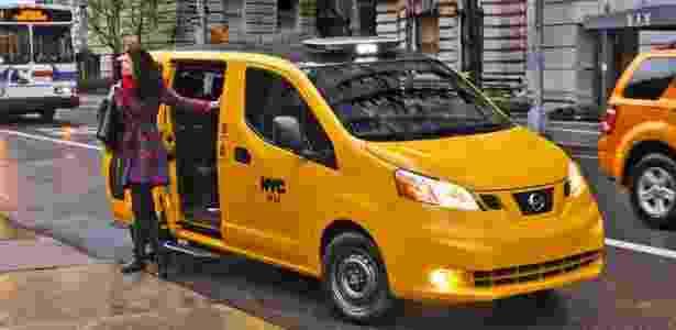 Nissan EV200 assume frota de táxis de Nova York prometendo comodidade e menor consumo - Divulgação