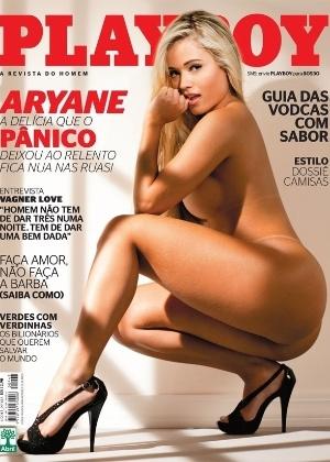 """Aryane Steinkopf é capa da """"Playboy"""" de abril"""