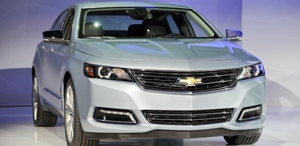 Chevrolet Impala é um dos envolvidos na nova bateria de recalls da GM - Stan Honda/AFP