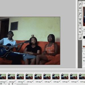 GIF no Photoshop - Reprodução