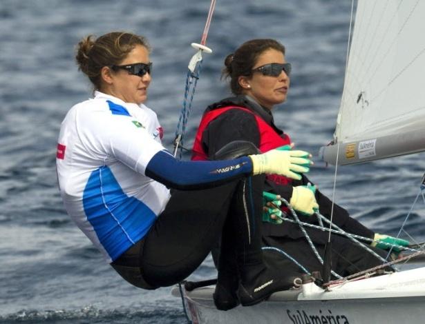 Fernanda Oliveira e Ana Barbachan durante o Troféu Princesa Sofia, na Espanha