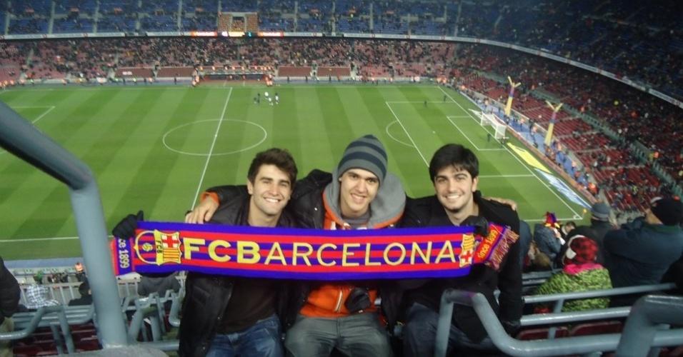 Luca Panajotti, 21, viajou em dezembro de 2011 para Barcelona, na Espanha, para fazer um curso de espanhol