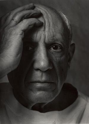 Obra em preto e branco de Pablo Picasso será exibida no museu Guggenheim, em Nova York - Getty Images/Arnold Newman