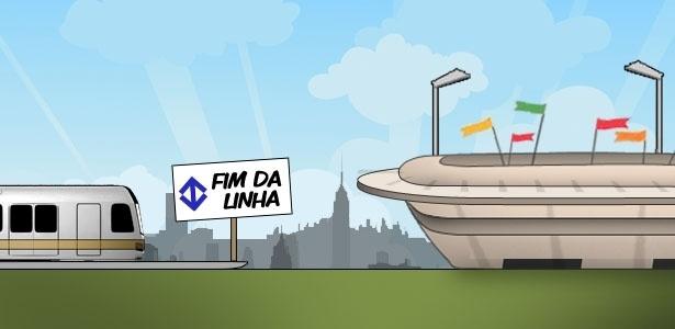 Linha 17 do metrô deve ficar pronta somente após o início da Copa do Mundo