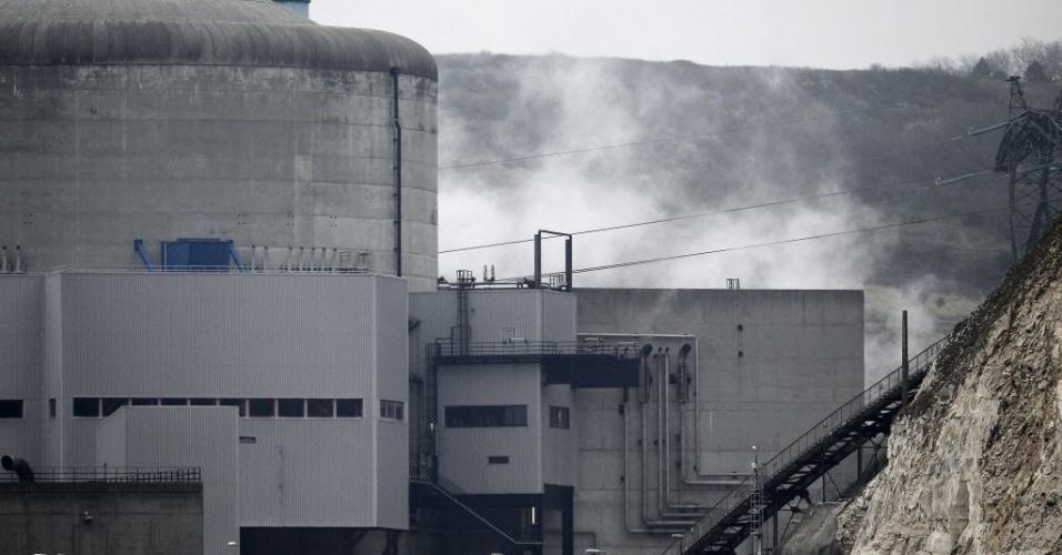 Vazamento de água radioativa é detectado em usina nuclear francesa EDF, em Penly, oeste da França, nesta quinta-feira (5). A empresa afirmou que a situação está controlada