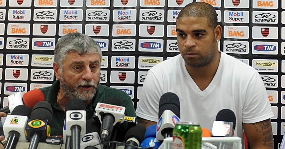 Também foi confirmado que o artilheiro fará sua recuperação no Flamengo